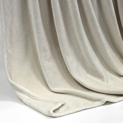 Decke SilkTouchUni creme, 150x200cm