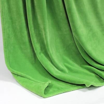 Decke SilkTouchUni saftgrün, 150x 200cm
