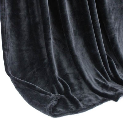 Decke SilkTouchUni schwarz, 150x 200cm