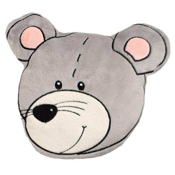 Wärmekissen Tierkopf Maus