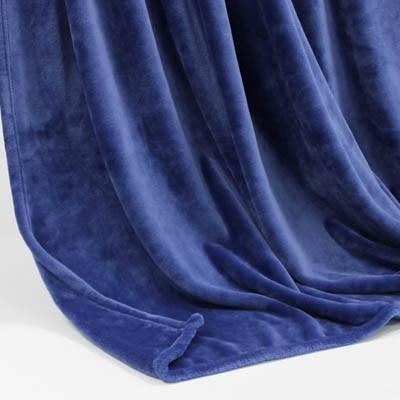 Decke SilkTouchUni Royal-blau, 150x 200cm