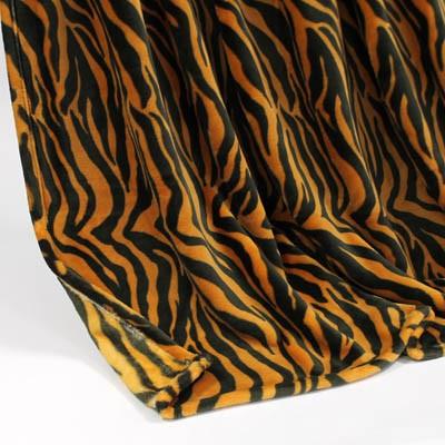 Decke SilkTouchPrint Tiger, ca. 150 cm x 200 cm