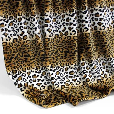 Decke SilkTouchPrint Leopard, ca. 150 cm x 200 cm