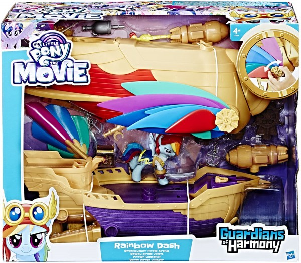 My Little Pony - My Little Pony Movie Rainbow Dash Piraten-Luftschiff