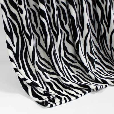 Decke SilkTouchPrint Zebra, ca. 150 cm x 200 cm