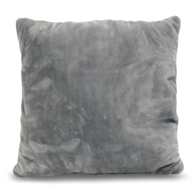 Kissen SilkTouchUni hellgrau, 50x50cm, ohne Reißverschluß