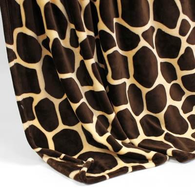 Decke SilkTouchPrint Giraffe, ca. 150 cm x 200 cm