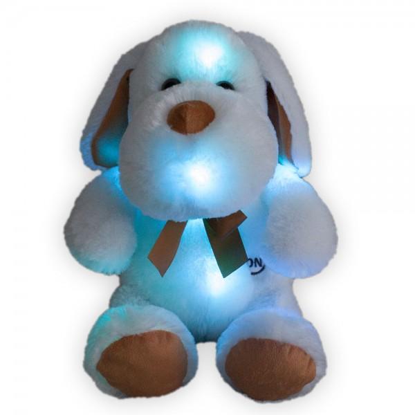 LED Hund mit Schleife, verschiedene Größen