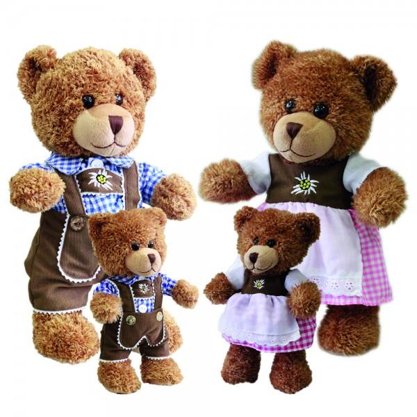 Bayern Bären, J. und M. sort, stehend, versch. Größen