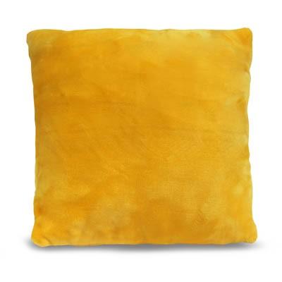 Kissen SilkTouch Uni gelb, 50x50cm
