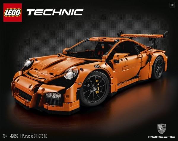 LEGO Technic 42056 - Porsche 911 GT3 RS …