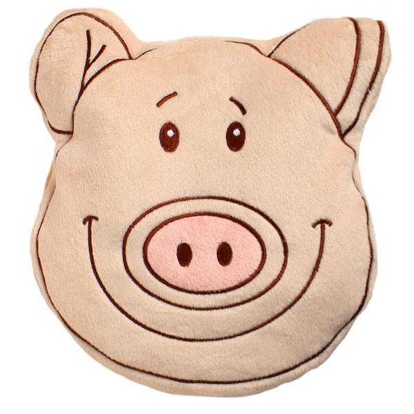Wärmekissen Tierkopf Schwein