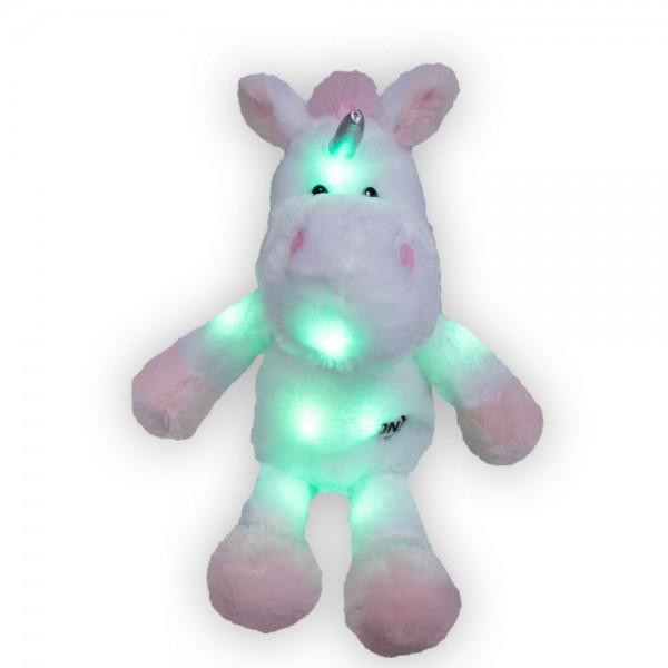 LED Einhorn, ca 25cm ohne Schleife