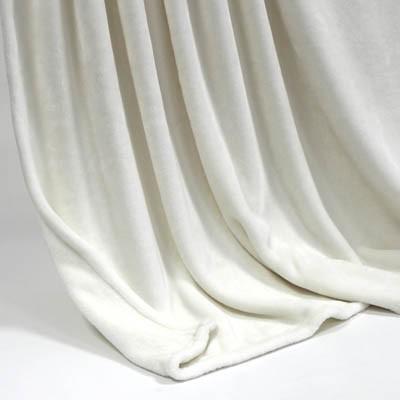 Decke SilkTouchUni weiss, 150x 200cm