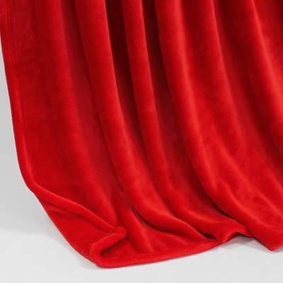 Decke SilkTouchUni rot, 150x 200cm