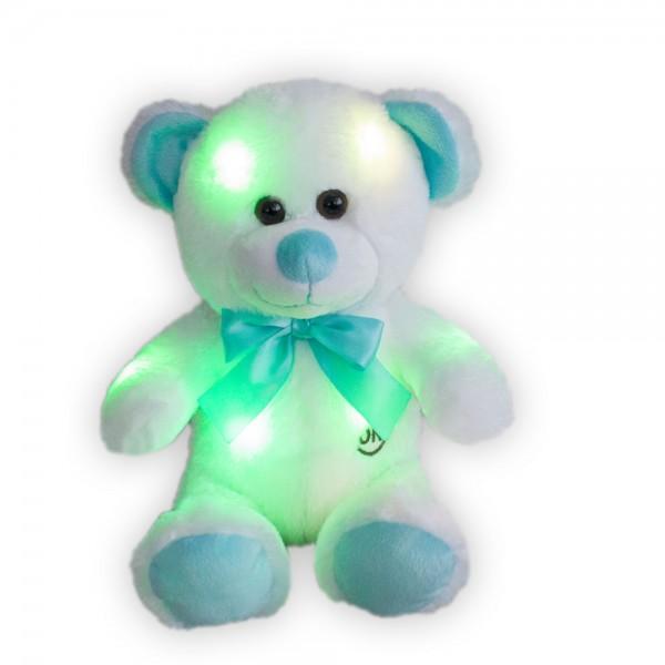 LED Teddybär mit Schleife, ca 25cm